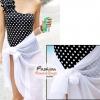 ผ้าคลุมชายหาด Hot Basic : สีขาว AB0001