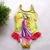 ชุดว่ายน้ำสาวน้อย ลายเจ้าหญิง มีไซส์ 8(110)-10(120)-12(130)