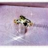 แหวนพลอยเล็ก gold plated 0.5microns