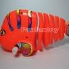 ปลาดุ๊กดิ๊กสีส้มไขลาน