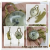 Glass Ball Copper Bell Pocket Watch Necklace Chain
