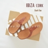 * NEW * FitFlop IBIZA Cork : Dark Tan : Size US 9 / EU 41