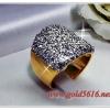 แหวนเพชร gold plated/white gold plated