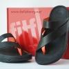 **พร้อมส่ง** รองเท้า FitFlop Sling Leather : Black : Size US 7 / EU 38
