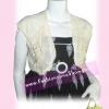 #หมด#แต่งง่ายค้า TB035 HK Pearl CardigaN : เสื้อคลุมตัวสั้นผ้าฮ่องกง แต่งมุกเป็นช่อดอกไม้หวาน ดีไซน์สวยเก๋ สีแต่งง่าย