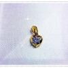 จี้เพชร gold plated 5microns/white gold plated