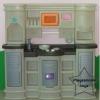 2SPT-1252L ชุดครัวสุดหรู สีคลาสสิค