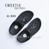 * NEW * FitFlop Sweetie : Black : Size US 8 / EU 39