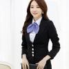 เสื้อสูทแขนยาวสีดำ เรียบหรู สไตล์เกาหลี