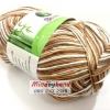 ไหมพรม Bamboo Cotton สีเหลือบ รหัสสี M32