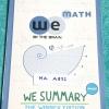►We Brain วีเบรน◄ MA A831 We Summary The Winner Edition หนังสือกวดวิชาสรุปเนื้อหาคณิตศาสตร์ ม.ต้น ครบทั้งหมดทุกบท อ่านเข้าใจง่าย ในหนังสือมีรวบรวมสูตร ,Concept สำคัญรวมถึงมีสูตรลัดและเทคนิควิธีคิดแบบเหนือชั้นของอาจารย์ เหมาะสำหรับนักเรียนชั้นม.ต้น ที่กำลั