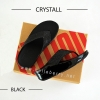 * NEW * FitFlop : CRYSTALL : Black : Size US 5 / EU 36