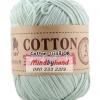 ไหมพรม Cotton 100% รหัสสี 08 Light Gray
