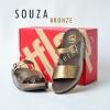**พร้อมส่ง** รองเท้า FitFlop SOUZA : Bronze : Size US 8 / EU 39