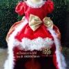ชุดซานตี้ ชุดแซนตี้ ชุดคริสมาส มีผ้าคลุม