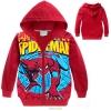 เสื้อกันหนาวเด็ก ลาย Spider man สไปเดอร์แมน สีแดง 95 100 110 120 130 140