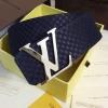 เข็มขัด Louis Vuitton ท็อปมิลเลอร์ 1:1 สายสีกรมท่ากว้าง 1.5นิ้ว หัวสีเงิน