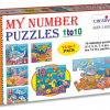Creative Educational Aids - My Number Puzzle 1-10