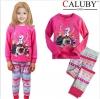 ชุดนอนเด็ก  Caluby ลาย Frozen เจ้าหญิงหิมะ  สีชมพู 2Y