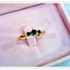 แหวนพลอยGoldPlated0.5Microns