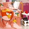 ผ้าห่มลาย Angry Birds ส้ม 1