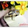 แหวนเพชร gold plated 2microns,white gold plated