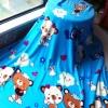 ผ้าห่มนาโน หมีฟ้า 1