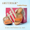 **พร้อมส่ง** FitFlop AMSTERDAM : Sunbaked Orange : Size US 5 / EU 36