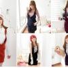 ♡♡Pre Order♡♡ ชุดเดรสคล้องคอ ผ้าเนื้อดี ใส่สบาย มีกระเป๋าข้าง น่ารักๆ ค่ะ มีให้เลือก 5 สี