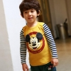 เสื้อยืด Hotpet สกรีนลาย Mikimouse (สีเหลือง)