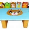 EVF-30 ชุดโต๊ะเก้าอี้หมีน้อยและผองเพื่อน