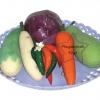 SKD-06 ชุดพืชผักจำลอง (ชุดเล็ก)