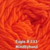 ไหมพรม Eagle กลุ่มใหญ่ สีพื้น รหัสสี 233