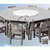 WHS-01-2 โต๊ะเก้าอี้นักเรียน ระดับประถม (1 ชุดประกอบด้วย โต๊ะ 8 ตัว ) เก้าอี้ 8 ตัว (สีเทา)