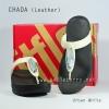 **พร้อมส่ง** รองเท้า FitFlop Chada (Leather) : Urban White : Size US 5 / EU 36