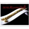สร้อยข้อมือลายเกลียว Gold plated 0.5Microns