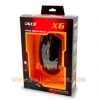 USB Optical Mouse OKER (X6 Gaming) Black