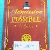 ►ติวเข้าธรรมศาสตร์◄ PHY 3802 หนังสือติวสอบ Admission Possible วิชาฟิสิกส์ โครงการเติมเต็มความรู้สู่รั้วเหลืองแดง โดยรุ่นพี่ธรรมศาสตร์ สรุปเนื้อหาทั้งหมดของวิชาฟิสิกส์ ม.ปลาย มีจดเพิ่มเติมบ้าง แบบฝึกหัดเว้นว่างไม่ได้ทำหลายข้อ หนังสือมีขนาด 14.5 * 20.8 * 0.