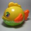 ปลาอ้วนกลม สีเหลือง
