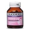 Blackmores Radiance Marine Q10 60 แคปซูล เน้นสารอาหารบำรุงผิว ทำให้ผิวกระจ่างใสอมชมพู