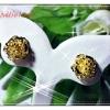 ต่างหูทอง gold plated 1microns