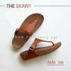 * NEW * FitFlop : The Skinny : Dark Tan : Size US 6 / EU 37