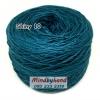 ไหม Cotton Shiny รหัสสี 10 สีฟ้าอมเขียว