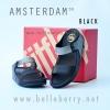 **พร้อมส่ง** FitFlop AMSTERDAM : Black : Size US 6 / EU 37