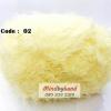 ไหมพรมปะการัง รหัสสี 02 สีเหลืองอ่อน