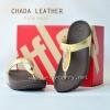 **พร้อมส่ง** รองเท้า FitFlop Chada (Leather) : Pale Gold : Size US 5 / EU 36