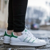 adidas Originals STAN SMITH SHOES White/Green (S75139)