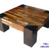 โต๊ะกลางไม้ลายปาร์เก้ TBG-279
