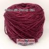 ไหมคอตตอลซิล (ไหมยาวี) รหัสสี 024 สีไวน์แดง