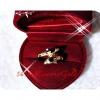 แหวนปลาโลมา สองตัวทอง 2Microns